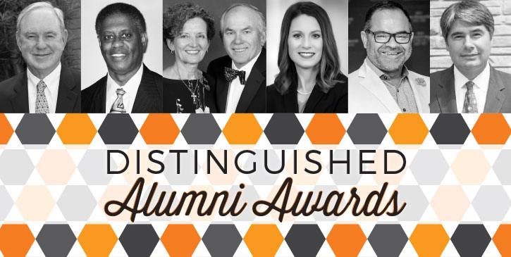 2017 Distinguished Alumni to be honored Sept. 22