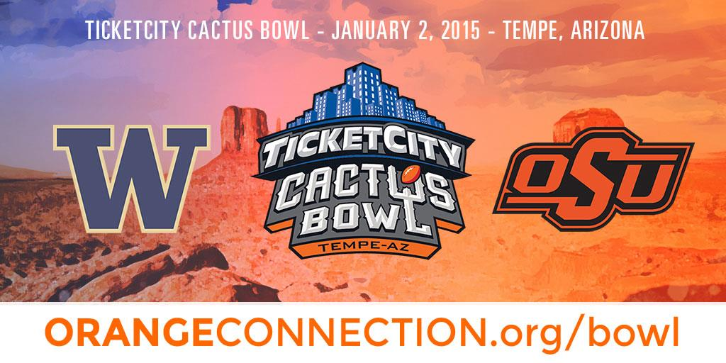 Oklahoma State Fan Guide for the 2015 Cactus Bowl
