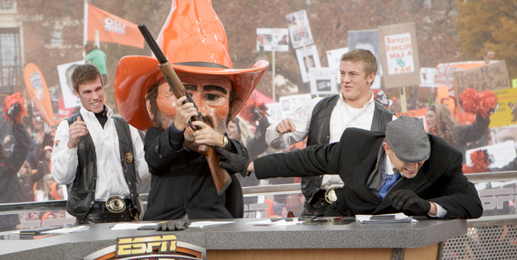 ESPN College GameDay Live from Stillwater for Bedlam