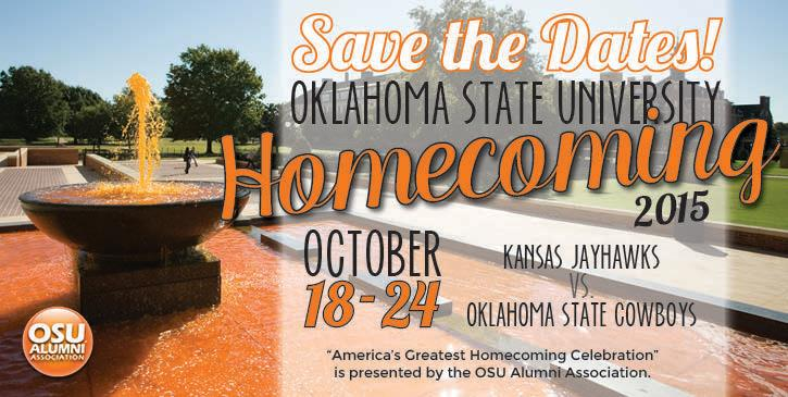 OSU Homecoming 2015 Dates Set