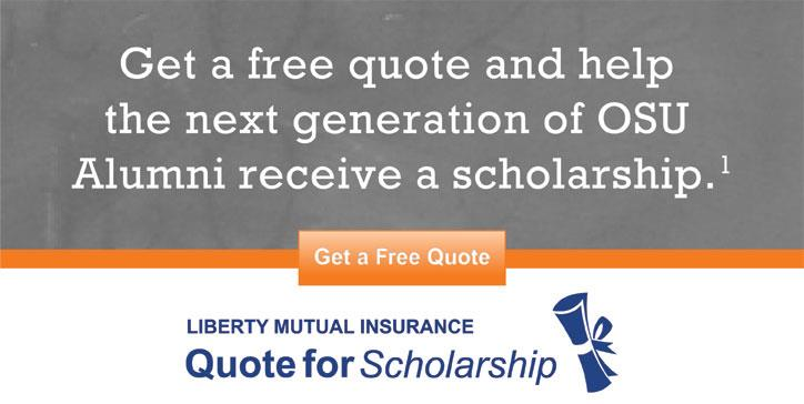 Liberty Mutual Quote for Scholarship Campaign