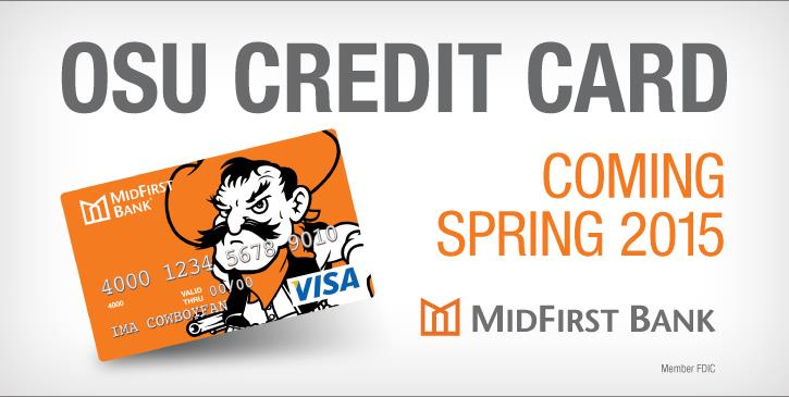 MidFirst Bank to Offer Oklahoma State University Credit Card