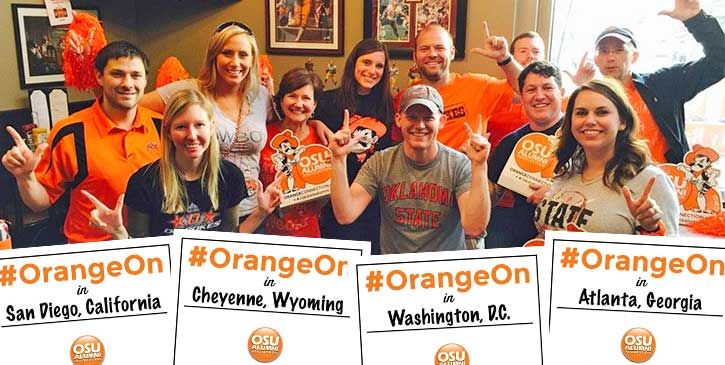 Tell Us Where You Have #OrangeOn
