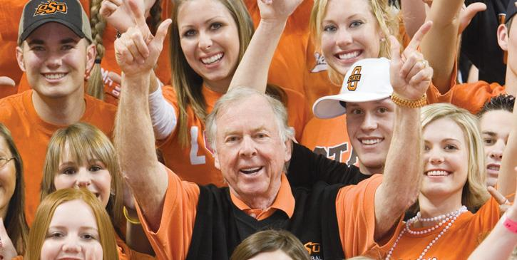 T. Boone Pickens Named Homecoming Grand Marshal