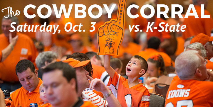Tailgate at the Cowboy Corral this Saturday