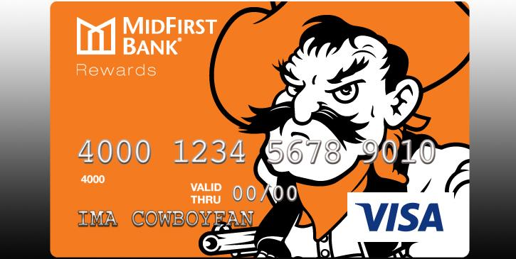 MidFirst OSU Visa Credit Card Now Available