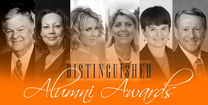 2015 Distinguished Alumni Award Recipients Announced