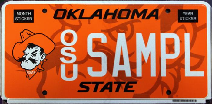 OSU Alumni Association - Car Tags