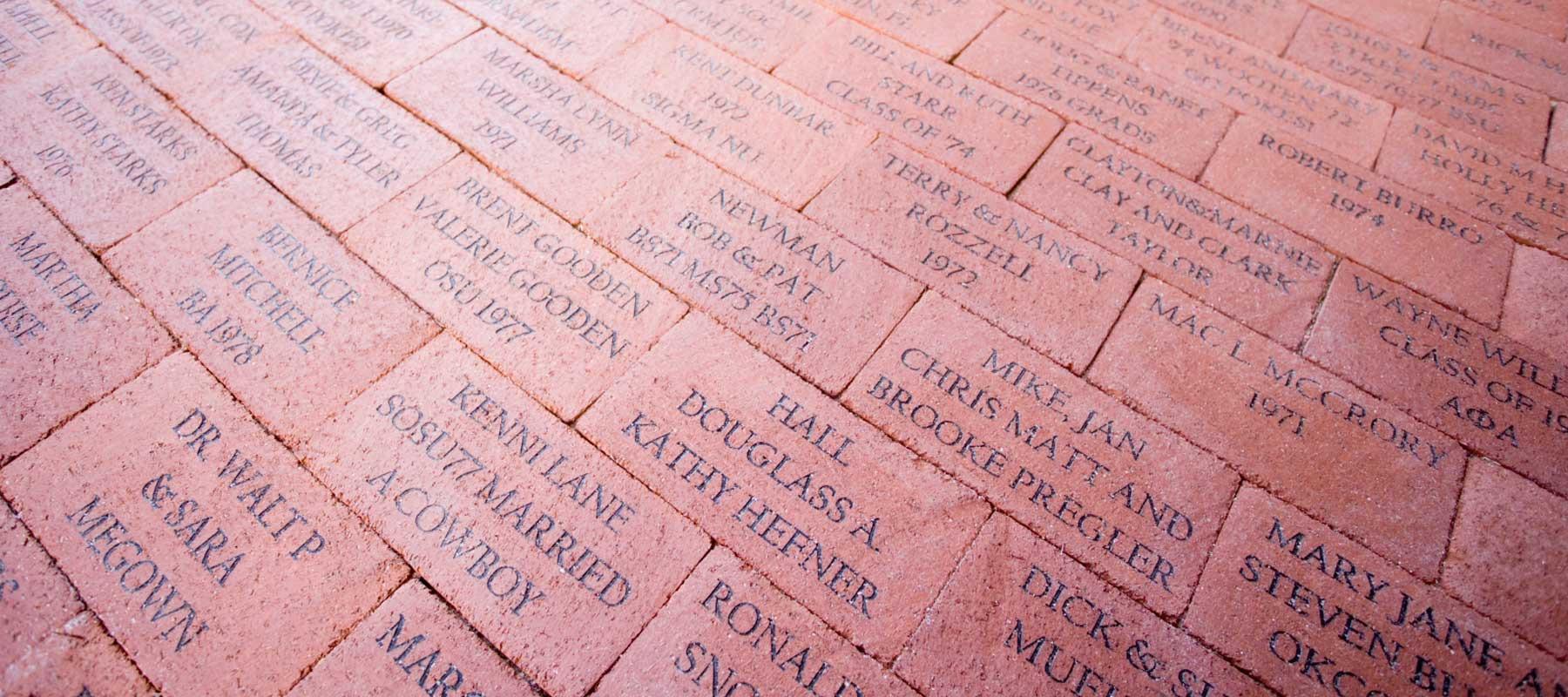 OSU Alumni Association - Brick Pavers