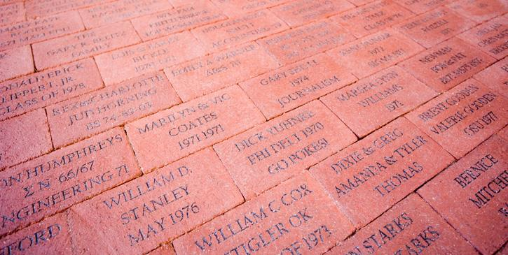 Alumni Center Brick Pavers