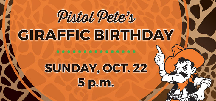 OSU Alumni Association Tulsa Chapter Pistol Petes Giraffic